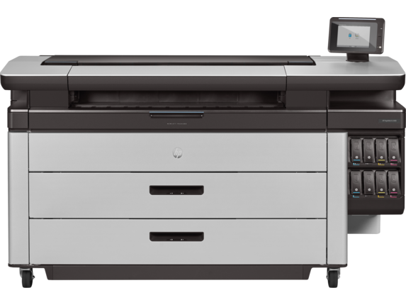HP PageWide XL 6000 40-in Printer with High-capacity Stacker and PostScript/PDF (2RQ11B)