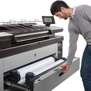 HP PageWide XL 6000 40-in Multifunction Printer with High-capacity Stacker and PostScript/PDF (2RQ10F)