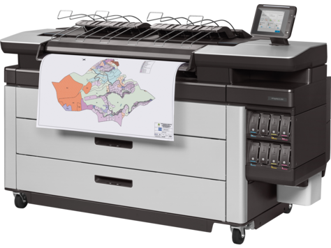HP PageWide XL 6000 40-in Multifunction Printer with High-capacity Stacker and PostScript/PDF (2RQ10B)